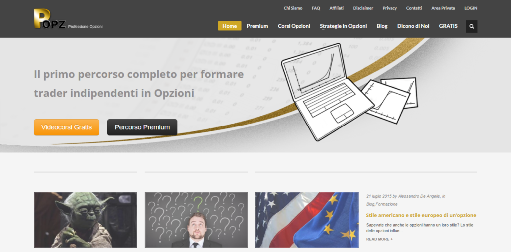 professioneopzioni.com